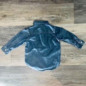 GAP Shirts & Tops - 2T Baby Gap Long Sleeved Shirts - Denim | Plaid